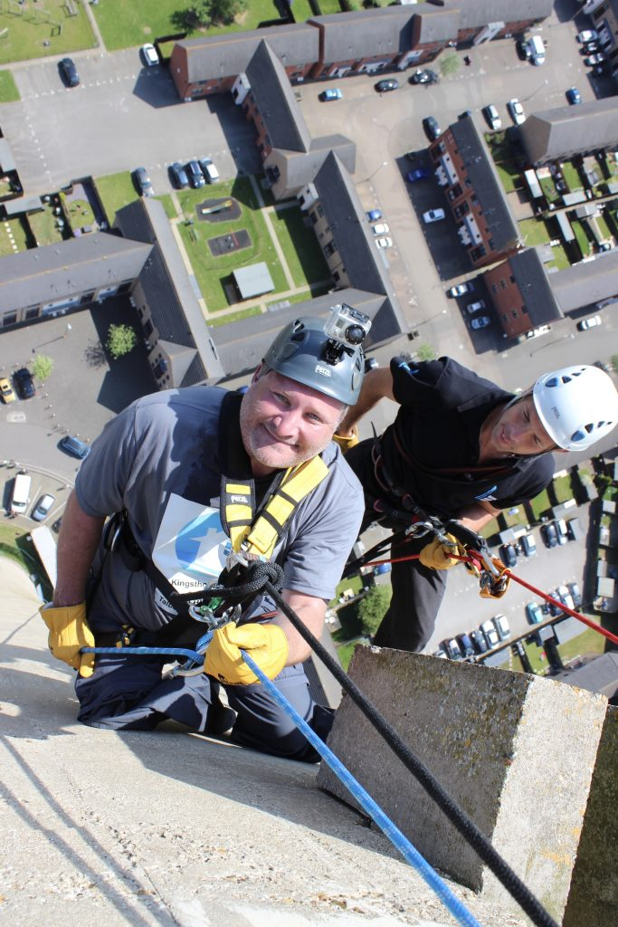 Abseil with no legs